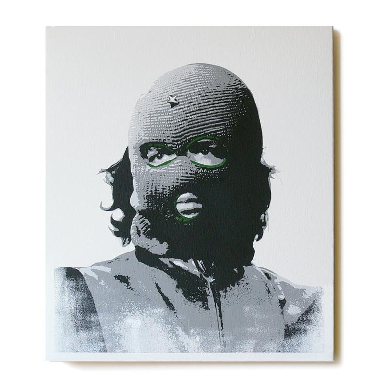 ステンシルアート「Che (Green Edition)」