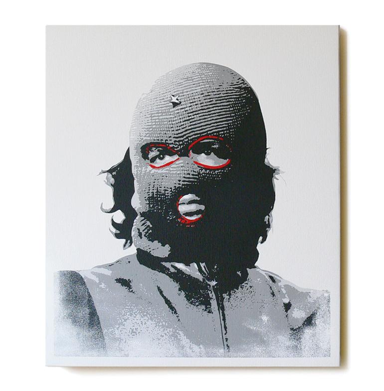 ステンシルアート「Che (Red Edition)」